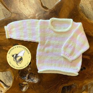 Strawberry Cream Baby Jumper