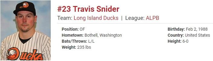 Travis Snider