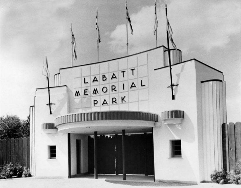 Labatt Memorial Park Gates