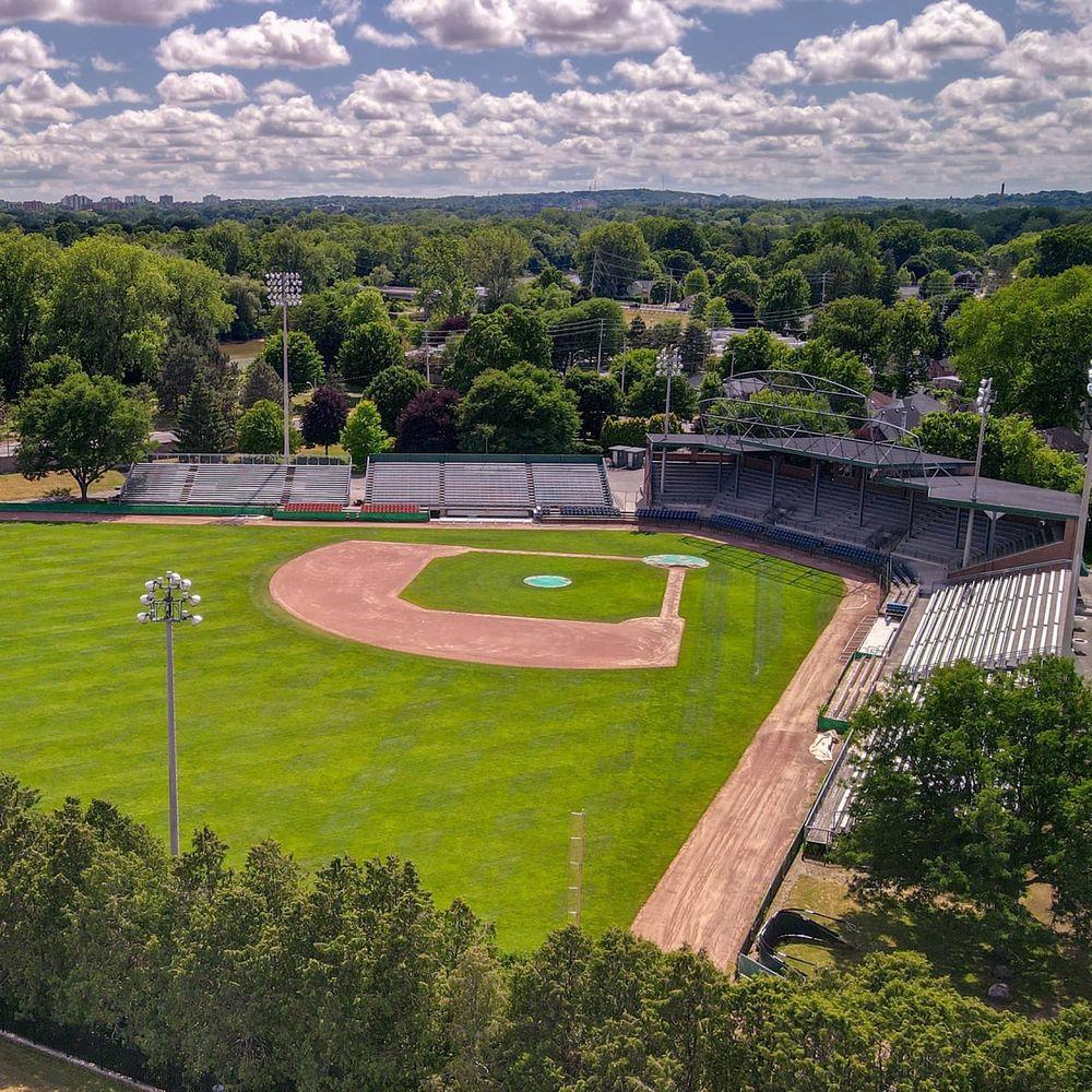 Labatt Park left field
