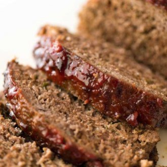 image of sliced meatloaf