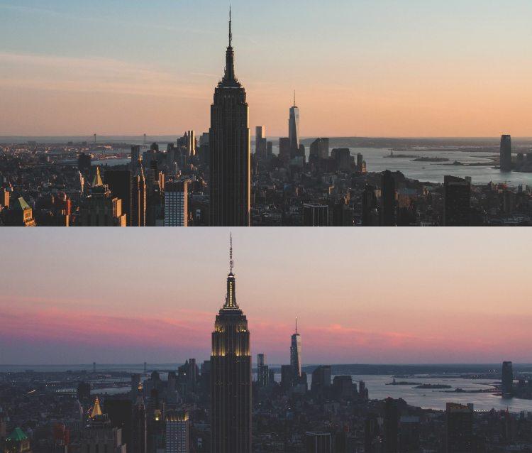Manhattan, as seen from Rock Center