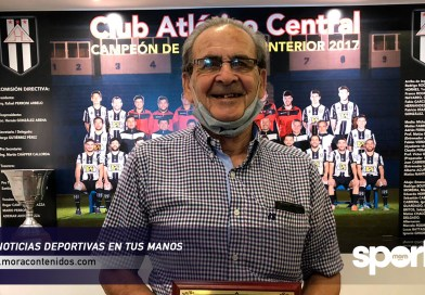 Central homenajeó a Roberto Hornes