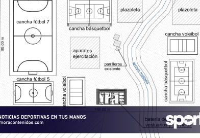 Rio Negro presentó proyecto a ISJ para realizar un espacio deportivo en la Parquización del Mallada.