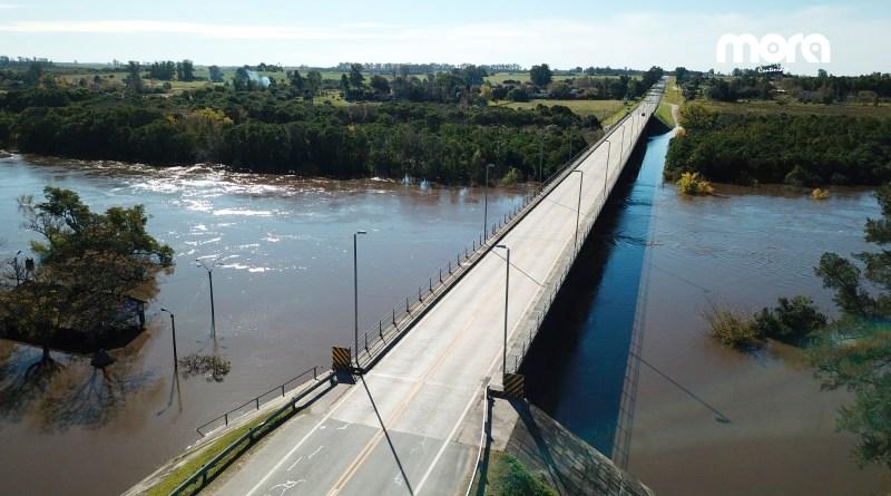 El Río San José viene bajando