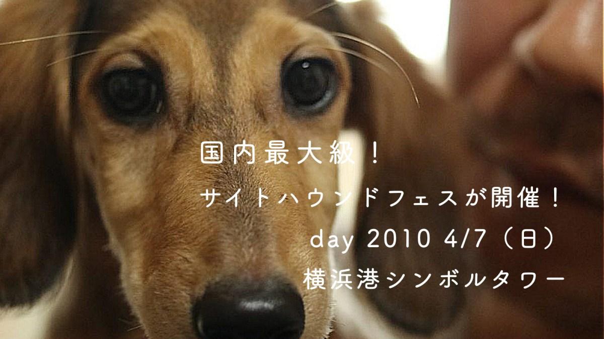 2019 / 04 / 07(日)国内最大級「サイトハンドフェス 10G 」横浜港シンボルタワーで開催決定!
