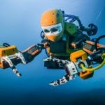 Check out Stanford's 'Humanoid Submarine Robot' OceanOne, with A.I. & Haptic Feedback