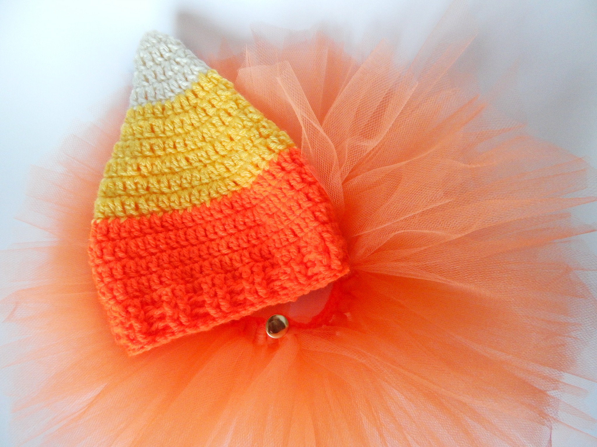 Candy Corn Hat Free Crochet Pattern
