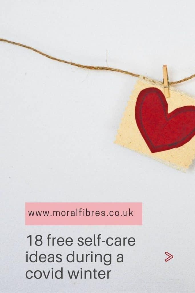 free self-care ideas covid winter