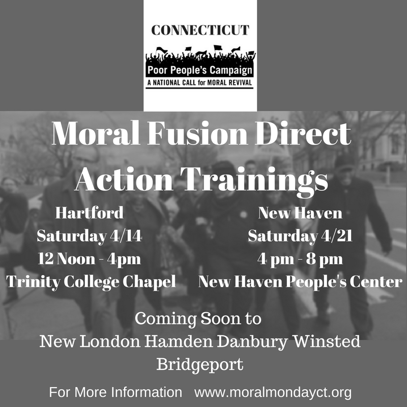 Moral Direct Action Training Flyer #1