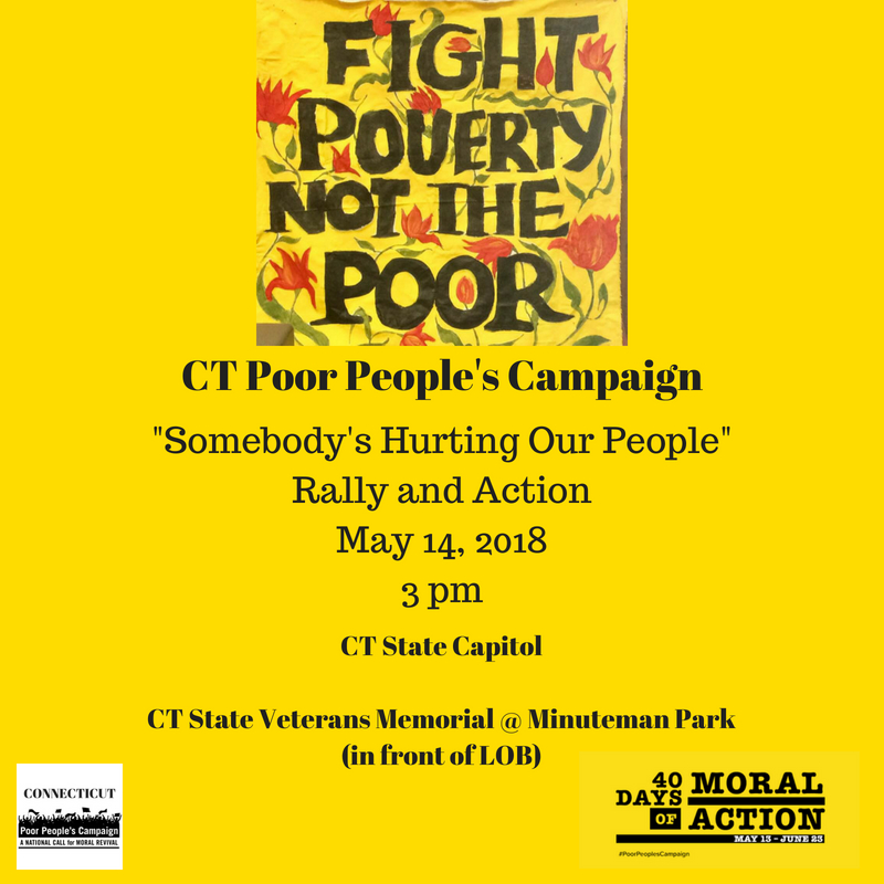 Somebody's Hurting Our People May 14th