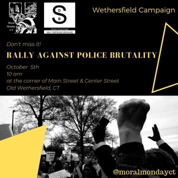 Rally Against Police Brutality - October 5 2019