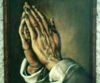 Story of The Praying Hands Painting - Heart Touching Story