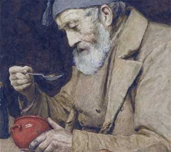 The Old Man And The Wooden Bowl Story - Family Stories