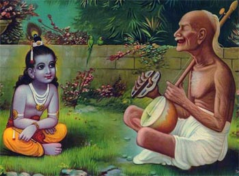 Surdas Story - Power of Chanting God's Name Stories Lord Krishna Bhakt