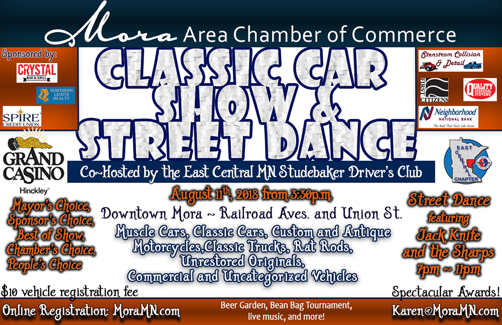 Upcoming Car Show Information Area Chamber Of Commerce - Car show sponsorship levels