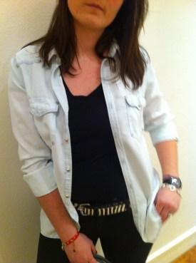 Look zebre morandmors - Chemise jeans H&M