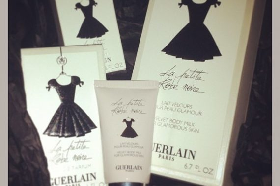 Mon parfum de l'hiver : La petite robe noire