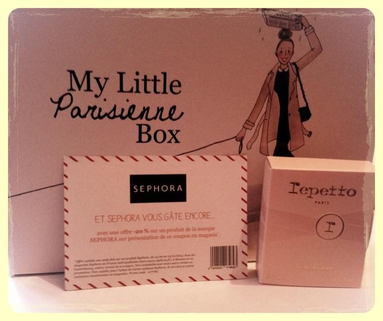 une vraie box parisienne par my little paris morandmors blog lifestyle beaut et mode. Black Bedroom Furniture Sets. Home Design Ideas