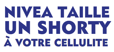Mon test NIVEA SHORTY
