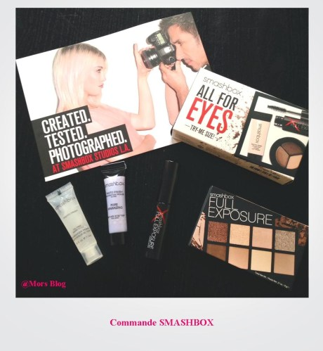 Smashbox commande Mors Blog