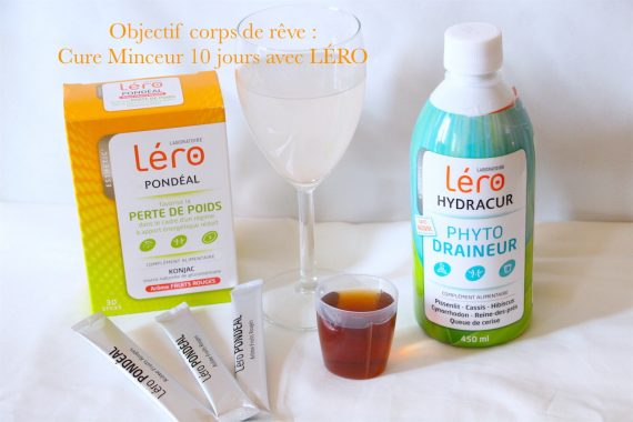 Objectif corps de rêve : Cure Minceur 10 jours avec LÉRO