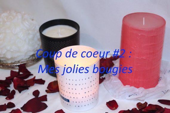 Coup de coeur #2 : Mes jolies bougies