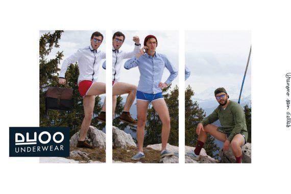 DUOO Underwear débarque à Paris