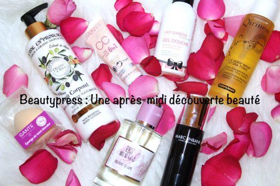Beautypress : Après-midi découverte beauté