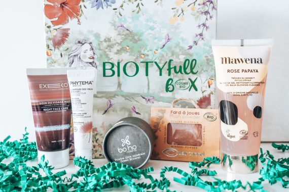 BOX BEAUTE #4 : BIOTYFULLBOX – AVRIL 2019 – « 100% Cosmebio  »