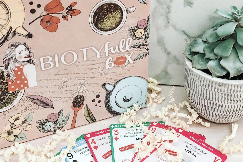 BiotyfullBox Septembre: «100% Thé – Spéciale 5 ANS »