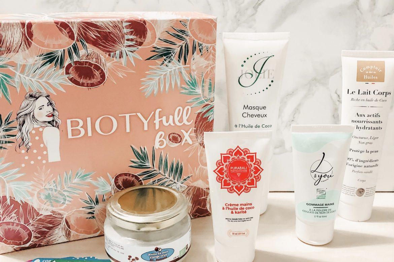 BiotyfullBox Novembre  : « 100% COCOoning »