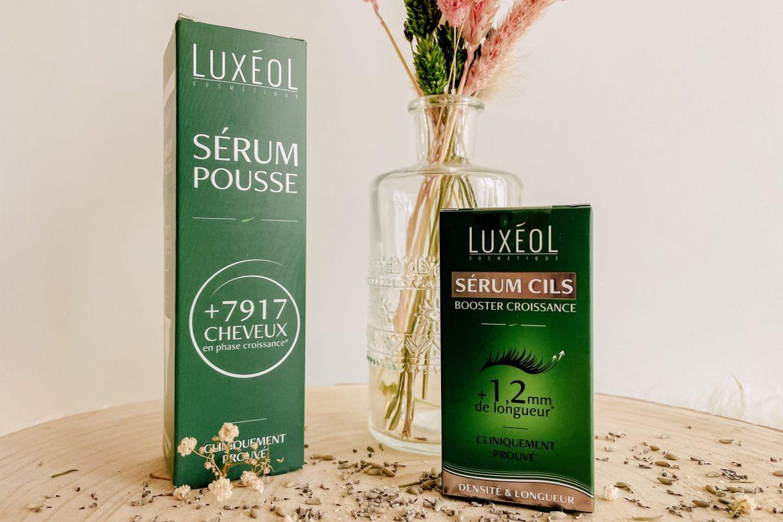 Duo Luxéol : Croissance capillaire et densité des cils !