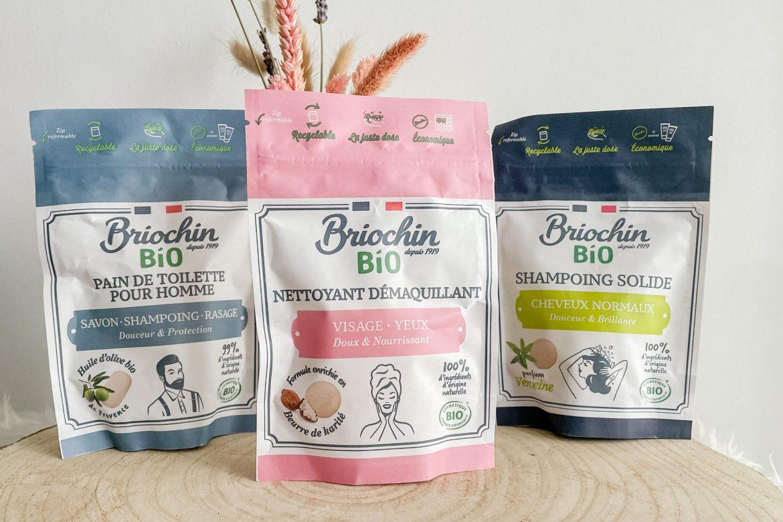 BRIOCHIN : Une nouvelle gamme de produits de beauté solides bio !