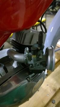 Carburatore restaurato (Dell'Orto) - Carburetor restored (Dell'Orto)