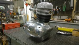 Restauro motore completato - Engine restoration completed