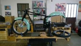 Aggiunta ruota anteriore - Front wheel added