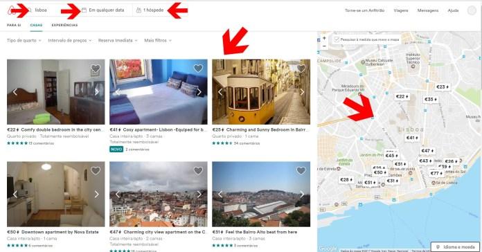 airbnb- morar em Portugal