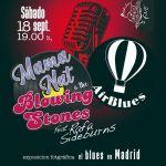 Concierto de Mama Nat & The Blowing Stones feat Rafa Sideburns y de Air Blues