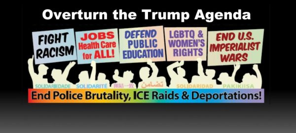 Demonstration – Fight Trump and Capitalist System He ...
