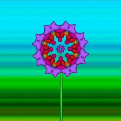 Fractal Flower 01