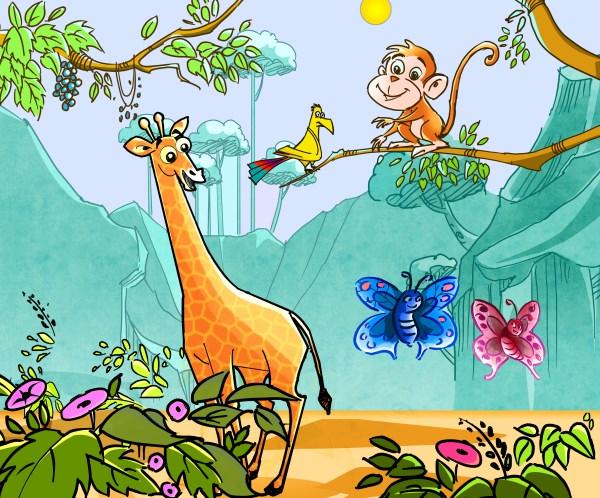Jungle Animal Friends