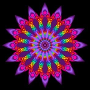 Woven Fractal Flower