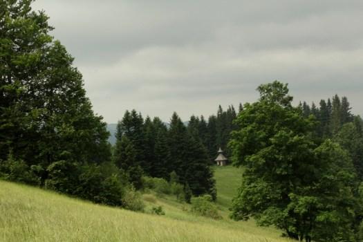 Kaplička na Javorníčku (860 m).