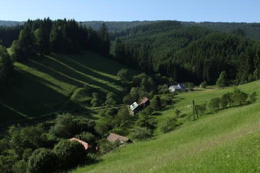 Údolí říčky Stanovnice.