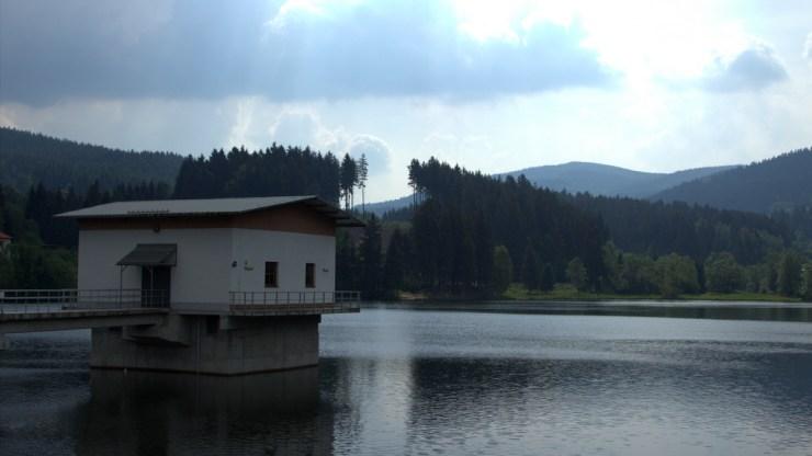 Vodní dílo Horní Bečva.