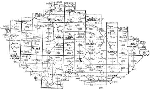 Mapový klad III. vojenského mapování (zdroj: http://oldmaps.geolab.cz/map_region.pl?lang=cs&map_root=3vm&map_region=25).