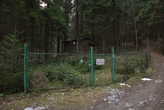Ochranná pásma vodních zdrojů nad Pozděchovem.