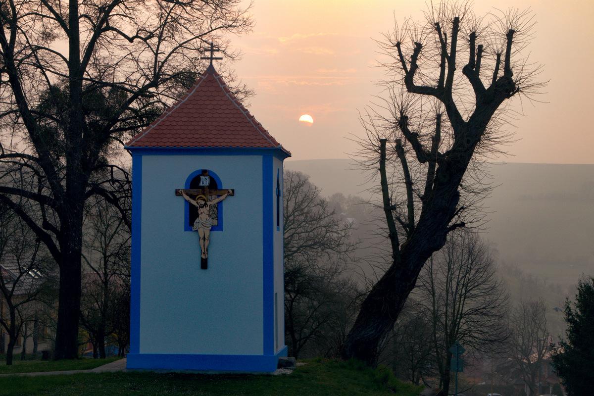 Zvonice na Kopci.