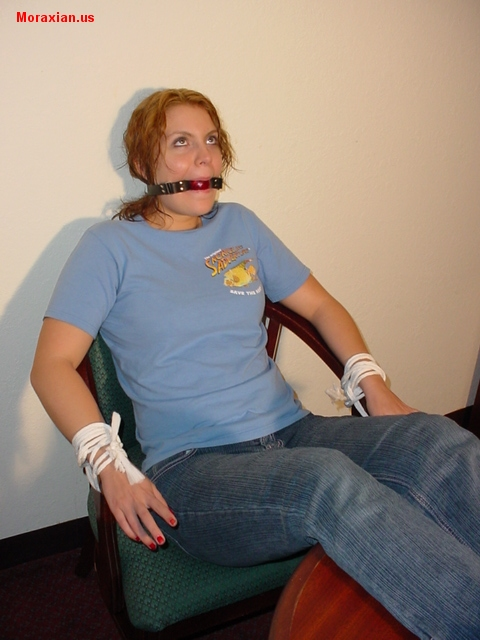 Toe Tied And Ball Gagged